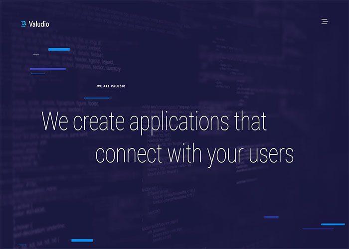 Valudio's-corporate-website