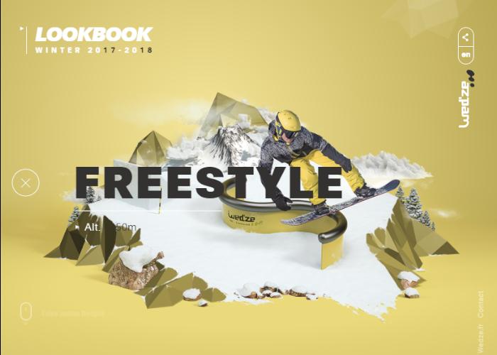 Freestyle Wed ze Lookbook Winter 2017 2018