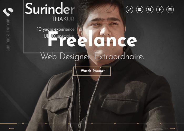 Surinder – Freelance Designer