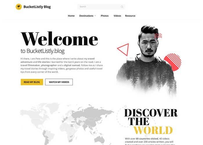 BucketListly-Blog