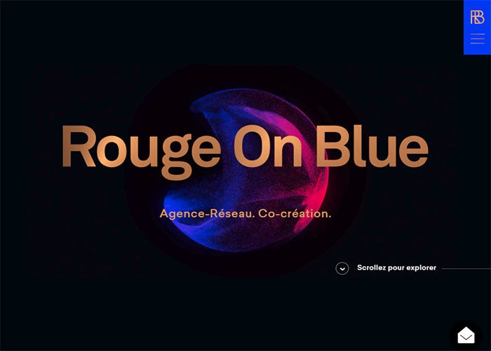 Rouge-On-Blue