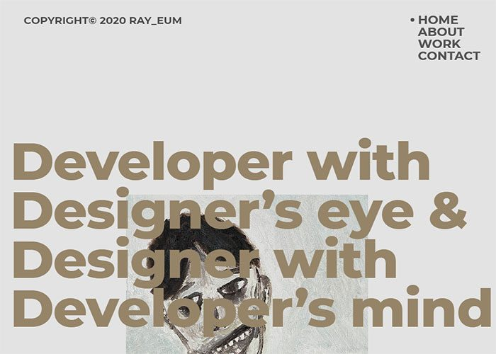 Ray_eum-portfolio-website