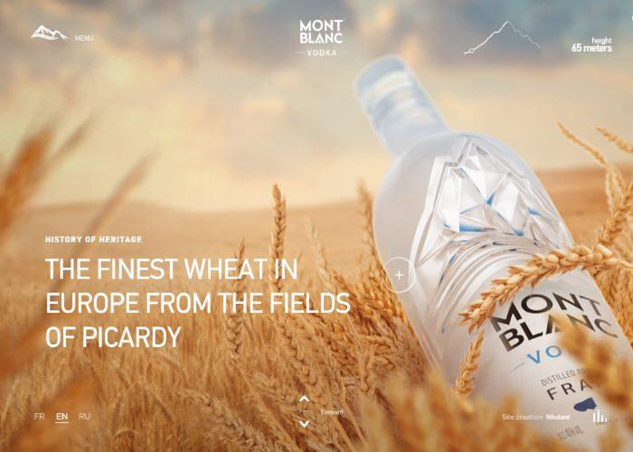 Vodka Montblanc